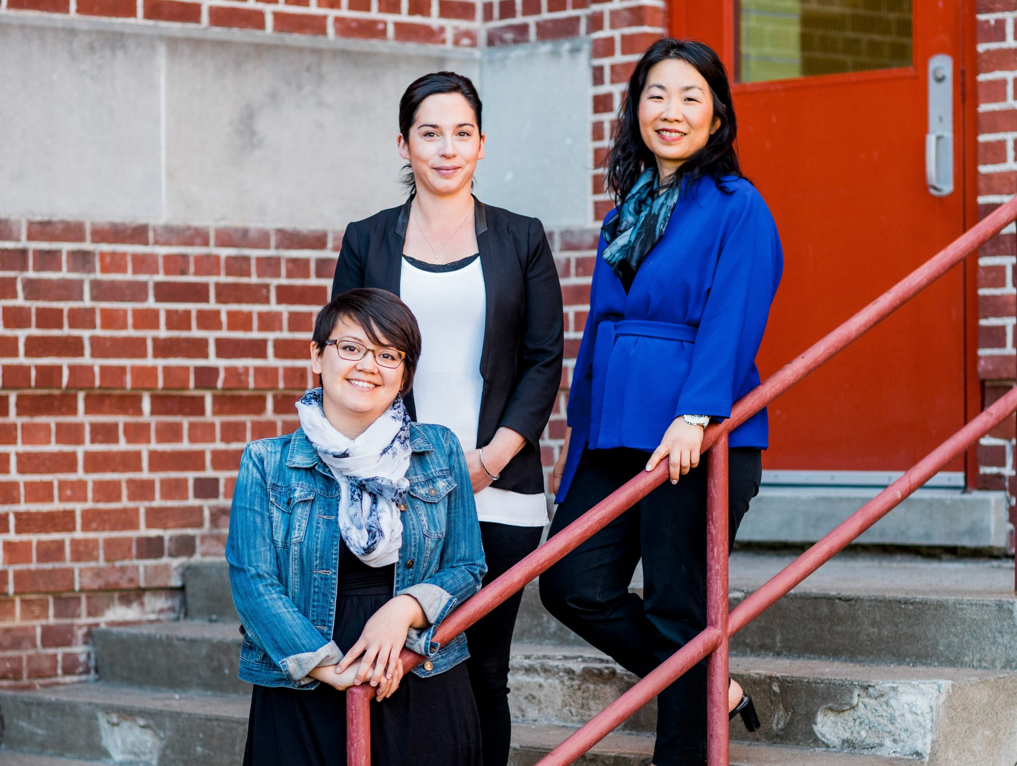 NorthBEAT Coordinating Team. Left to Right: Carole Lem, Dr. Shevaun Nadin, Dr. Chiachen Cheng
